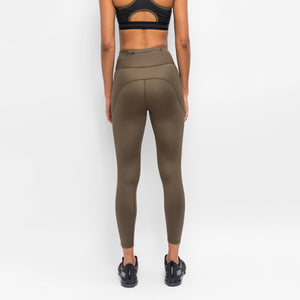 Kith Women Carrie Shine Tight - Khaki Green