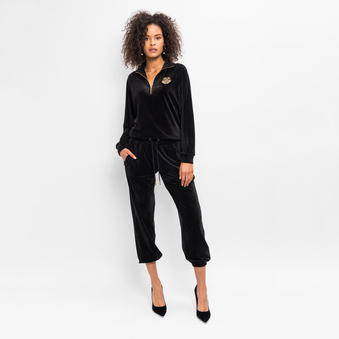 Kith Women Abby Velour Pant - Black