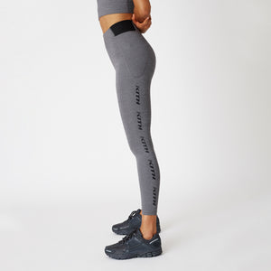 Kith Women Carrie Tights - Heather Grey Image 4
