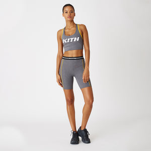 Kith Women Luela Biker Shorts - Heather Grey