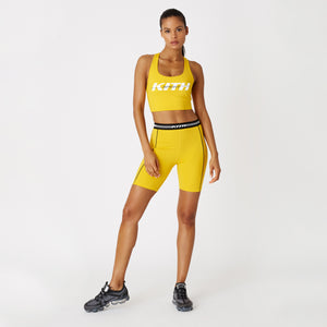 Kith Women Luela Biker Shorts - Yellow