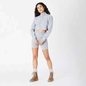 Kith Women Haley Biker Shorts - Heather Grey