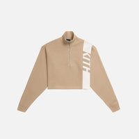 Kith Women Harper Half Zip - Tan Thumbnail 1
