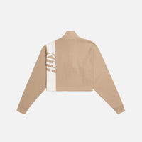 Kith Women Harper Half Zip - Tan Thumbnail 2
