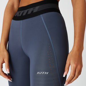 Kith Women Cody Perforated Tight - Shark Image 4