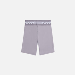 Kith Women Liz Biker Shorts - Lilac Grey