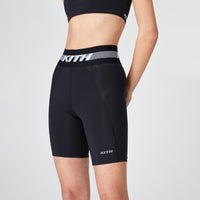 Kith Women Lindsey Biker Short - Black Thumbnail 1