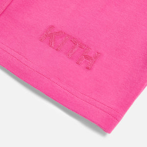 Kith Women Pace Biker Short - Shocking Pink