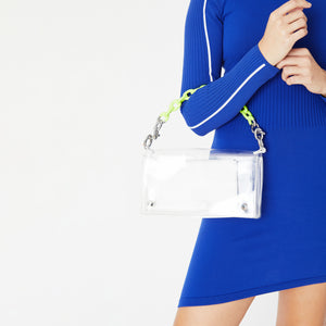 Kith Women Sienna Crossbody PVC Bag - Clear Image 4