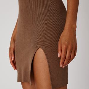 Kith Women Skylar Knit Dress - Tan