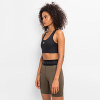 Kith Women Bianca Shine Sports Bra - Black Thumbnail 4