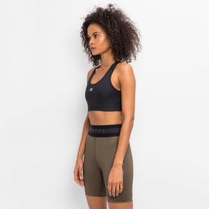 Kith Women Bianca Shine Sports Bra - Black Image 4