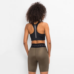 Kith Women Bianca Shine Sports Bra - Black Image 5