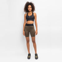 Kith Women Bianca Shine Sports Bra - Black Thumbnail 1