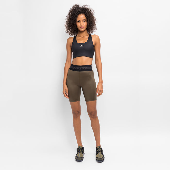Kith Women Bianca Shine Sports Bra - Black