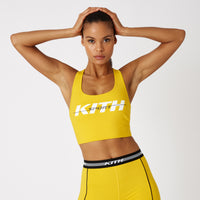 Kith Women Brie Sports Bra - Yellow Thumbnail 1