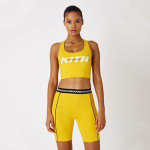 Kith Women Brie Sports Bra - Yellow Image 3