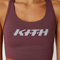 Kith Women Brie Sports Bra - Mauve Thumbnail 1