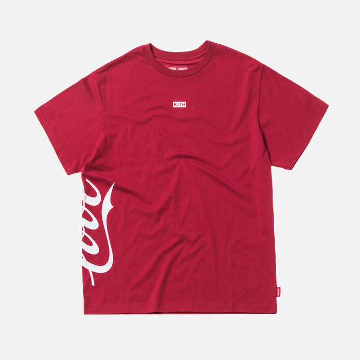 Kith Women x Coca-Cola Mott Love Tee - Red