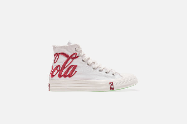 Ronnie Fieg x Coca-Cola x Converse Chuck Taylor All Star High 1970 - White / Red