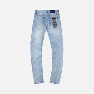 Ksubi Van Winkle Trashed Dreams Denim - Light Blue Image 2