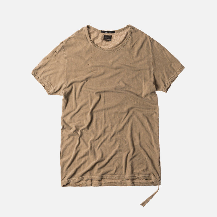 Ksubi Bad Habits Tee - Peyote Grey