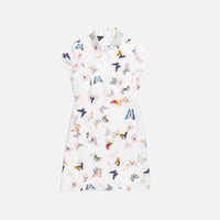 Kim Shui Butterfly Dress - White Thumbnail 1