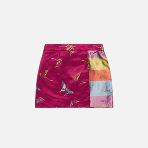 Kim Shui Butterfly Mini Skirt - Solid Pink