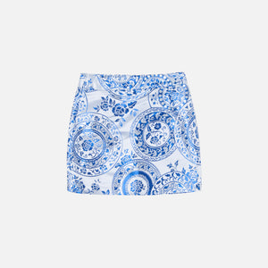 Kim Shui China Mini Skirt - Blue