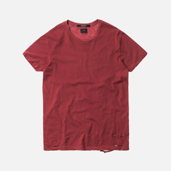 Ksubi Sioux Tee - Dead Red