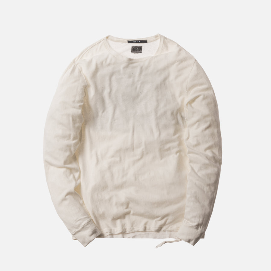 Ksubi x Travis Scott Birds of the Air L/S Tee - White