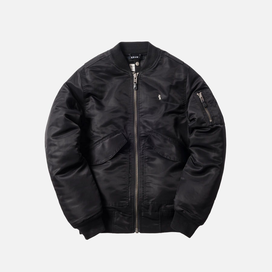 Ksubi x Travis Scott Higher Than Heaven Bomber Jacket - Black
