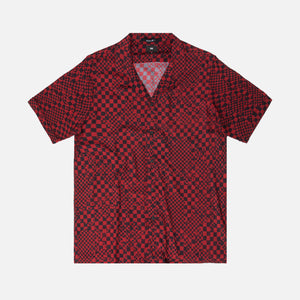 Ksubi Check Mate Resort Shirt - Red