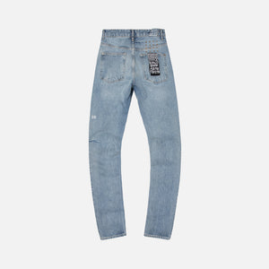 Ksubi Chitch Jinx Trashed Up - Light Blue