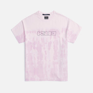 Ksubi Sign Of The Times Tee - Pink Dye