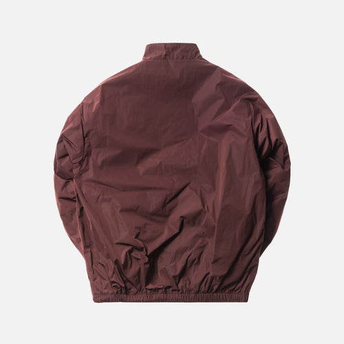 Yeezy Season 5 Half-Zip Windbreaker - Oxblood