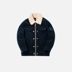Kith Kids Hi-Pile Laight Jacket - Navy