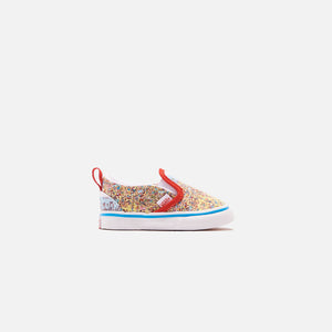 Vans x Where's Waldo? Toddler Classic Slip On - Find Steve / Beach