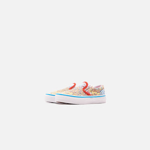 Vans x Where's Waldo? Pre-School Classic Slip On - Find Steve / Beach