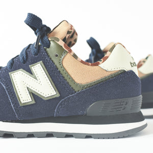 New Balance Kids PC574HN - Navy / White