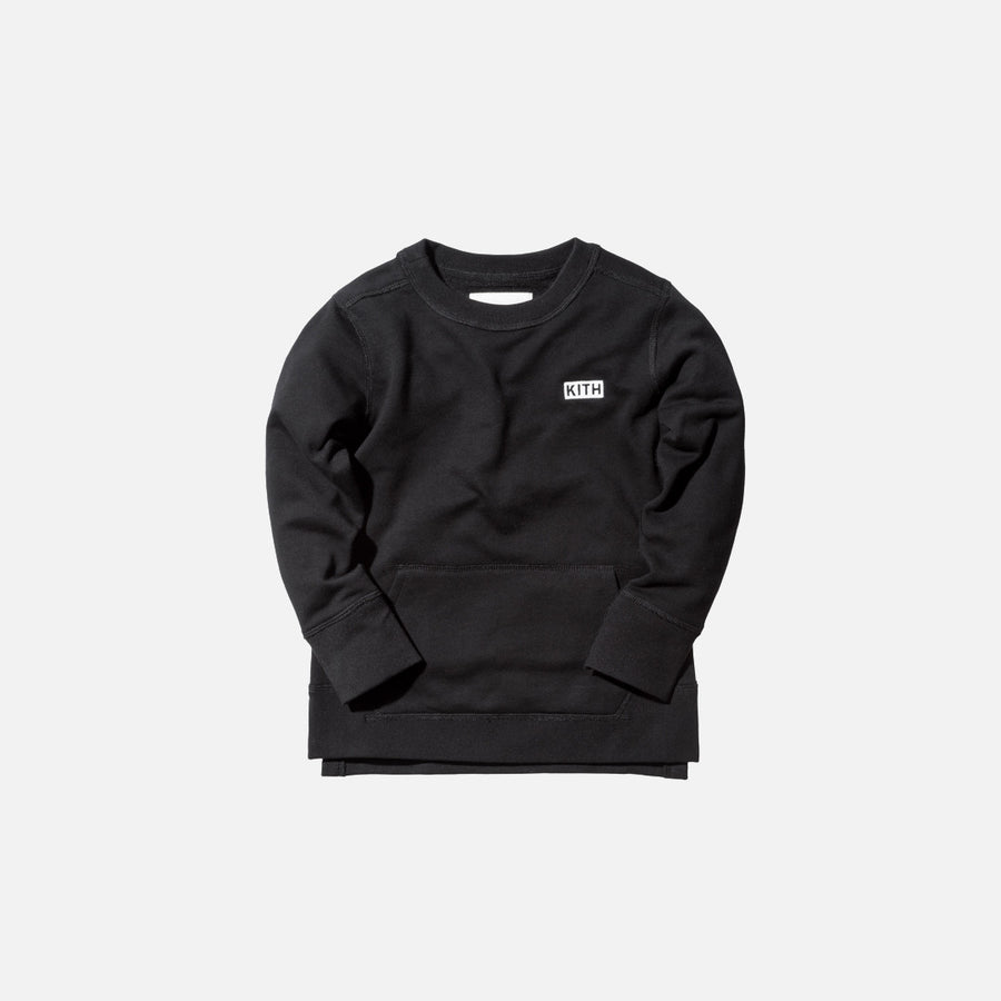 Kidset Thompson Crew - Black