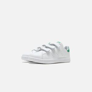 adidas Pre-School Stan Smith - White / Green Image 2