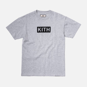 Kith Flock Logo Tee - Heather Grey