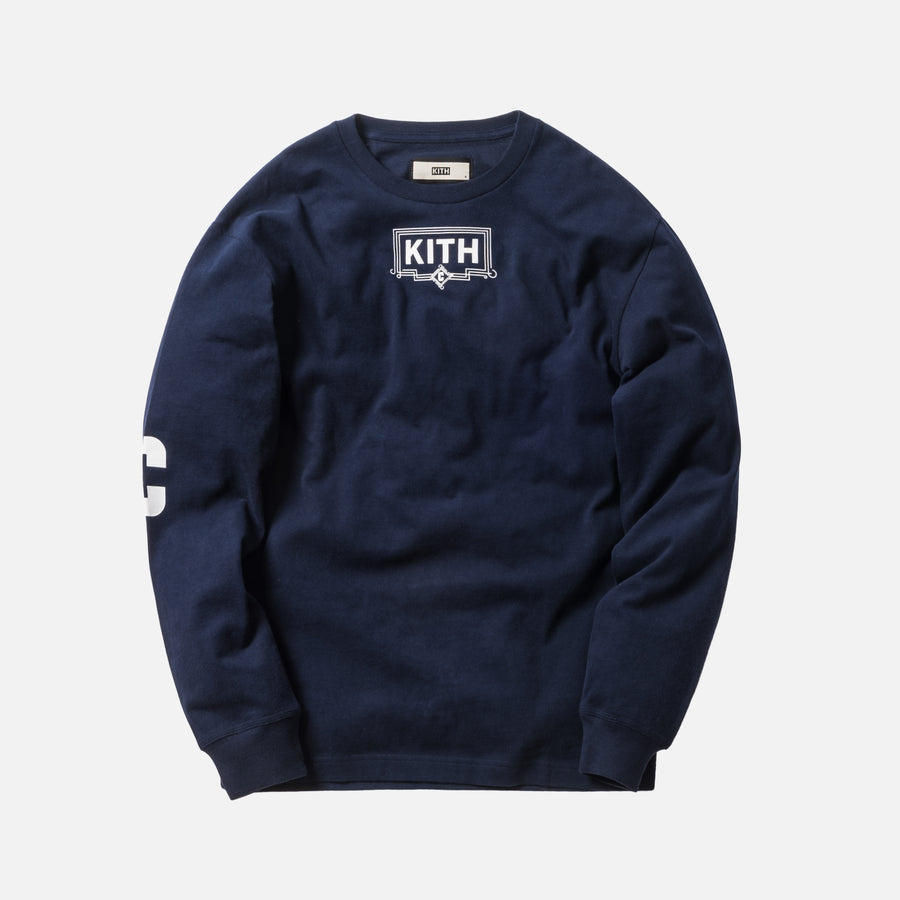 Kith x Carbone L/S Tee - Navy