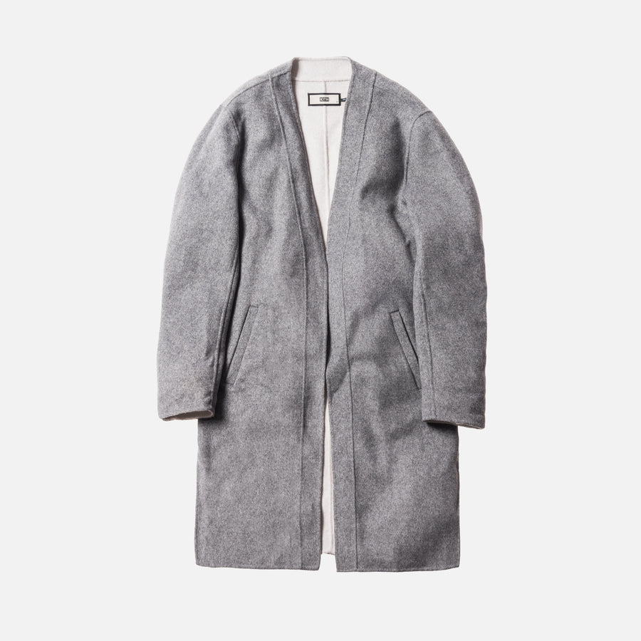 Kith Becker Wool Coat - Grey