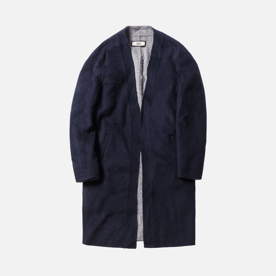 Kith Becker Wool Coat - Navy