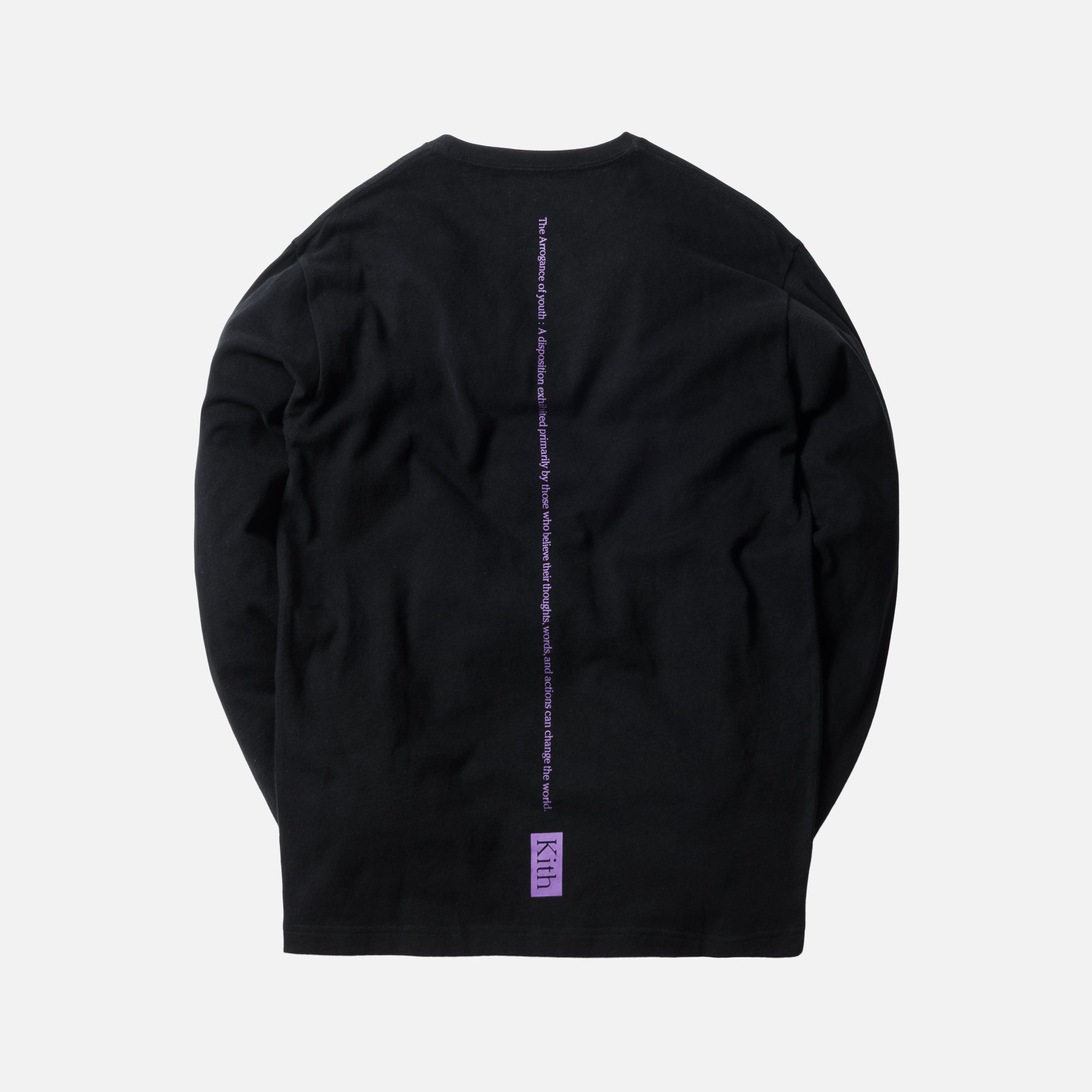 Kith Arrogance Define L/S Tee - Black