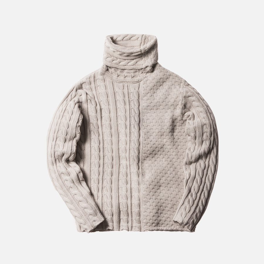Kith Sherwood Knit Sweater - Light Grey