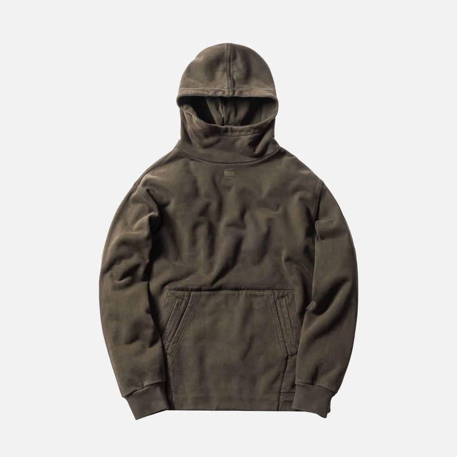 Kith Double Pocket Hoodie - Olive