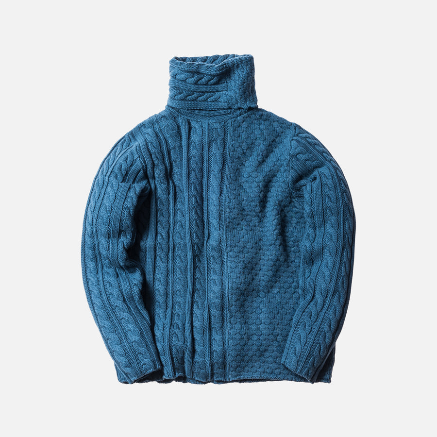 Kith Sherwood Knit Sweater - Indigo